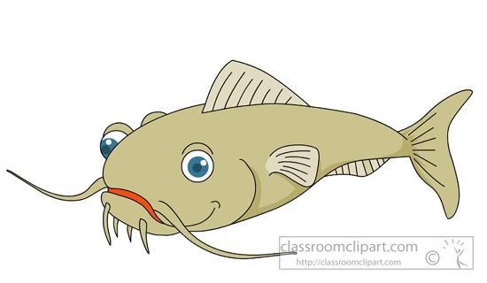 269 Catfish free clipart.