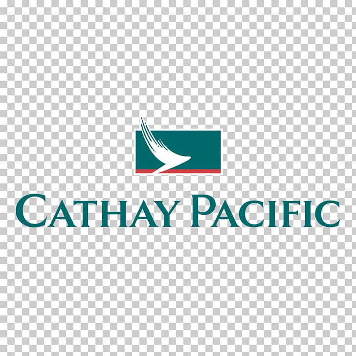 Cathay Pacific Airline Logo Hong Kong International Airport.