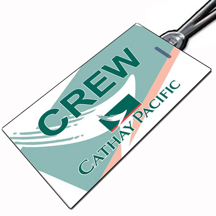 Cathay Pacific Crew Tag.