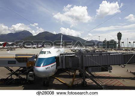 Pictures of China, Hong Kong International Airport at Chek Lap Kok.