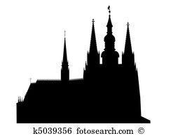 Gothic cathedral Clipart and Illustration. 452 gothic cathedral.