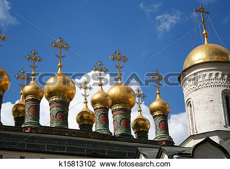 Stock Photo of Breathtaking Famous The Annunciation Cathedral and.
