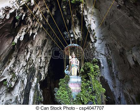 Picture of Cathedral cave part of batu caves.