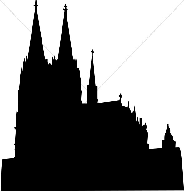 Cathedral Silhouette.
