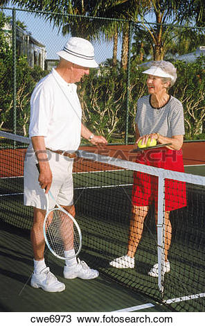 Stock Photo of Retired couple 70.