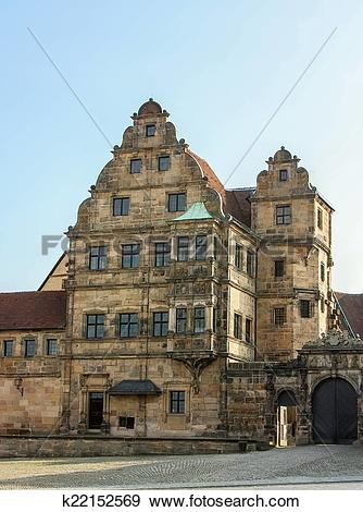 Stock Photograph of Old Court, Bamberg k22152569.