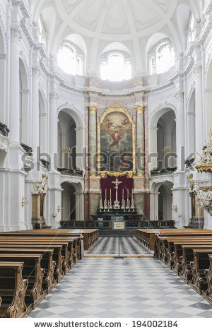 Main Cathedral Interior Granada Spain Stock Photo 85803034.