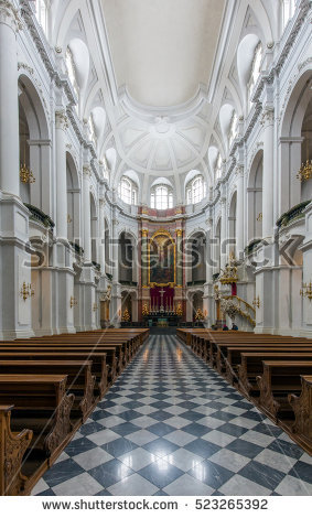Hofkirche Stock Photos, Royalty.
