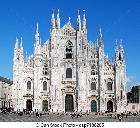 Stock Images of Milan Cathedral (Dome, Duomo).
