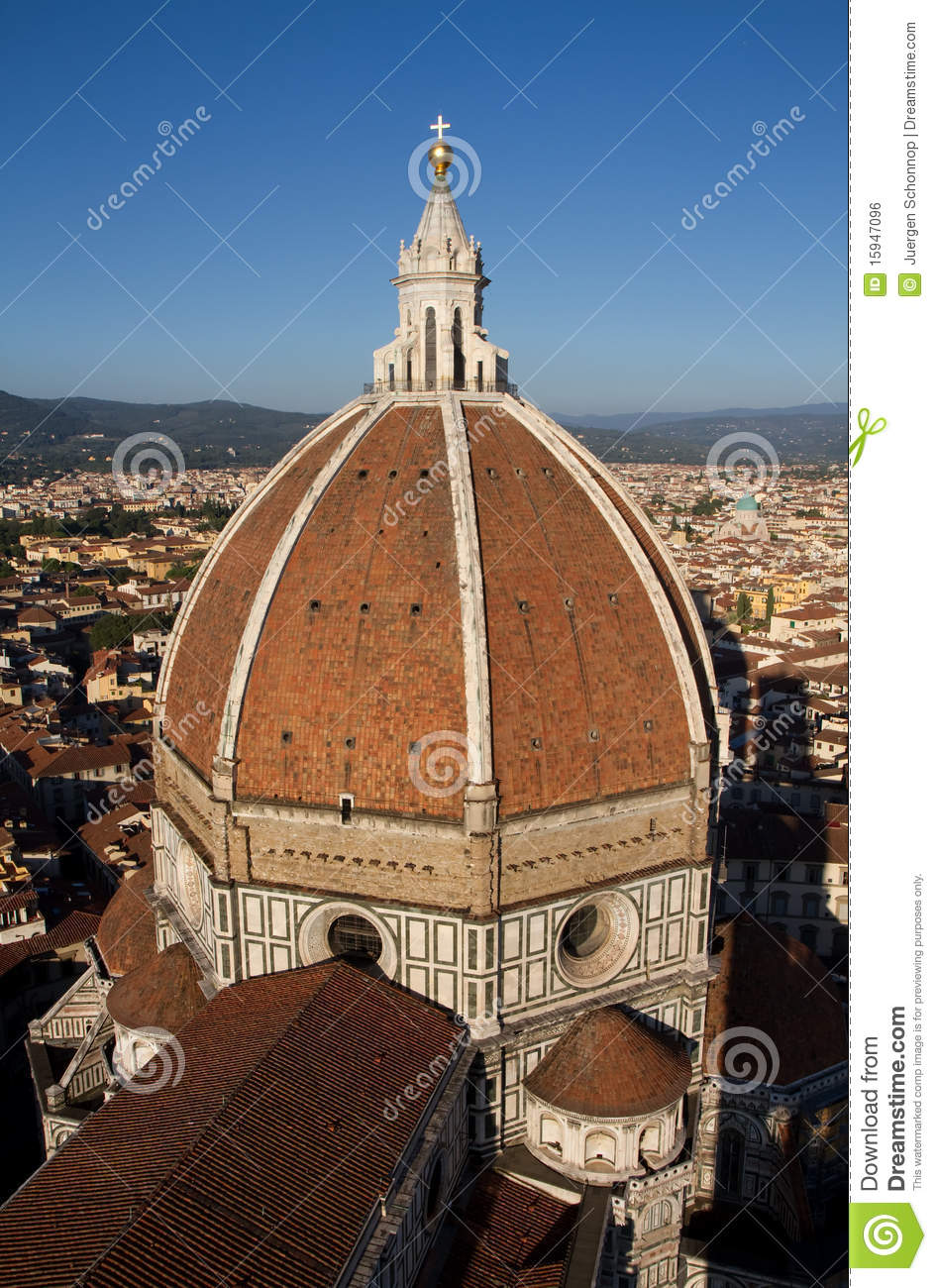 Dome Of Florence Cathedral Royalty Free Stock Image.