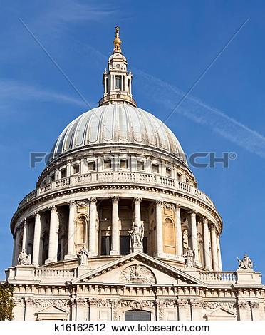 Stock Photo of St Pauls Cathedral dome k16162512.