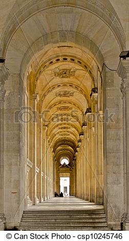 Stock Photo of Repeating Arches.