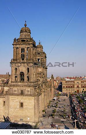 Picture of Cathedral in Plaza de la Constituci?n (the Z?calo.