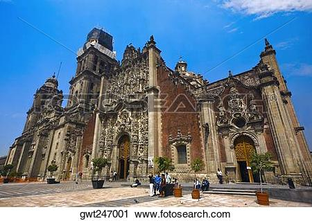 Stock Photography of Low angle view of a cathedral, Metropolitan.
