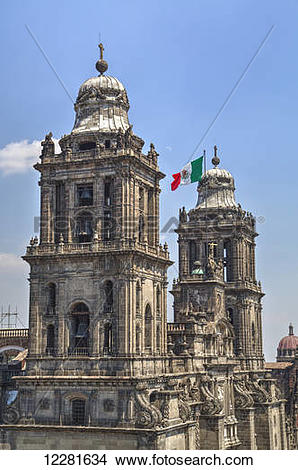 Stock Photo of Metropolitan Cathedral; Mexico City, Mexico.