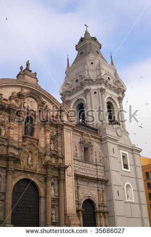 Basilica Cathedral Stock Photos, Royalty.