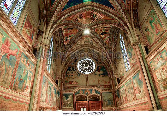 Interior Cathedral Basilica St Francis Stock Photos & Interior.