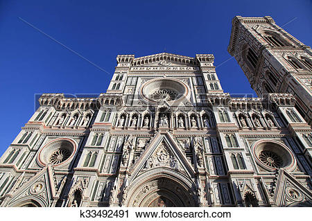Stock Photography of Cathedral of Santa Maria del Fiore, Florence.