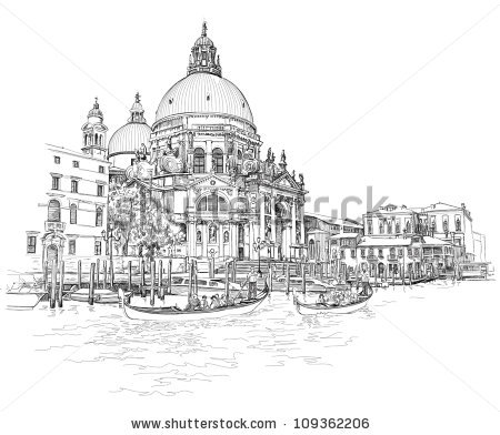 Vector Images, Illustrations and Cliparts: Venice.