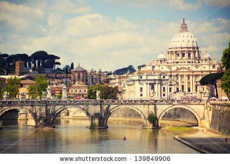 St Peters Basilica Stock Photos, Royalty.
