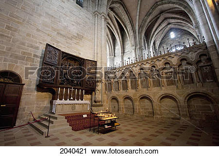 Stock Photography of Marian Altar By Veit Stoss In The Cathedral.