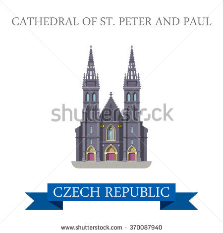 Saint Peter And Paul Cathedral Stock Vectors & Vector Clip Art.