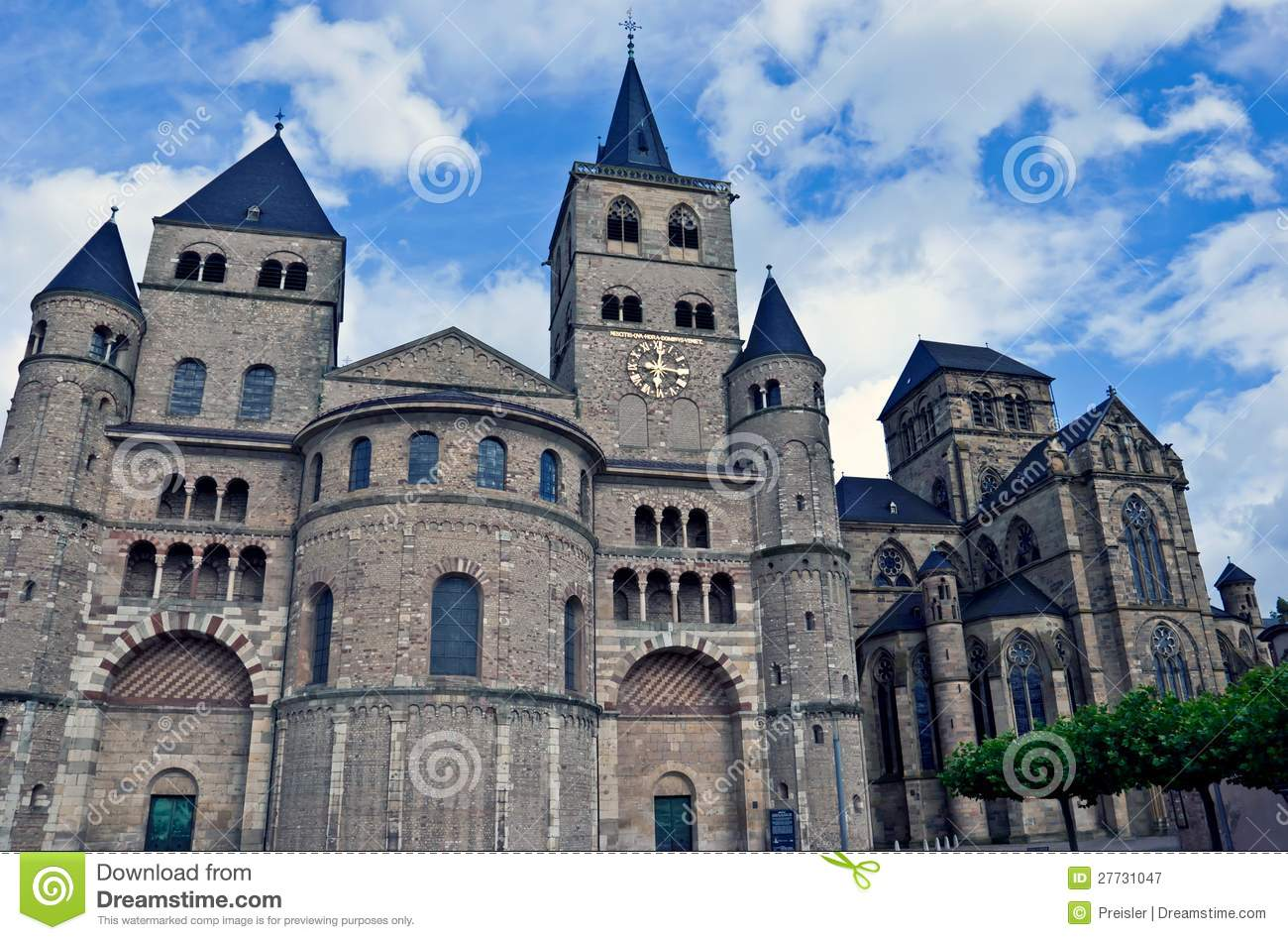 Cathedral Of Saint Peter, Trier Royalty Free Stock Photography.