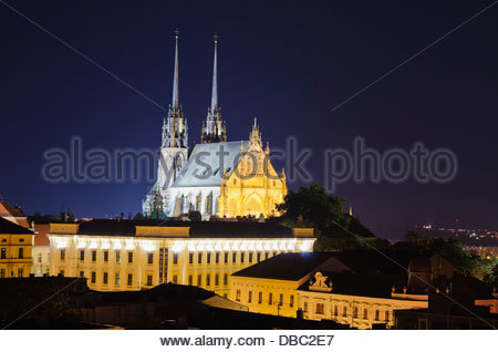 Brno Cathedral Of St Peter And St Paul, From Czech Republic 10kc.