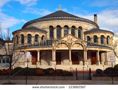 The Greek Orthodox Cathedral Of The Annunciation, On Preston St.