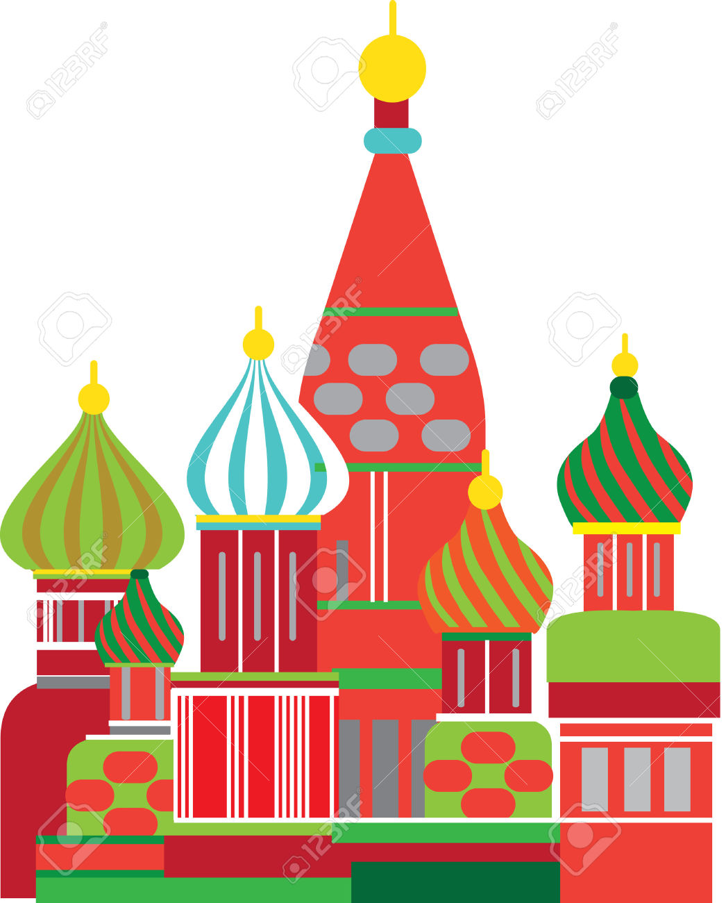 Cathedral Of The Annunciation, Moscow, Kremlin Royalty Free.