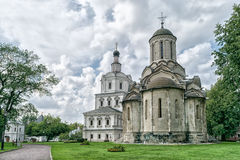 Spassky Cathedral And Church Of Michael The Archangel Stock Photo.