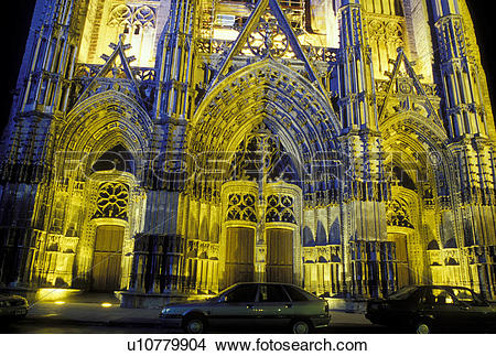 Stock Photo of cathedral, France, Loire Valley, Loire Castle.