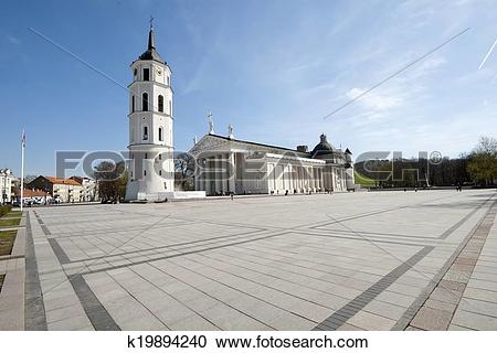 Stock Photography of Granite Cathedral square k19894240.