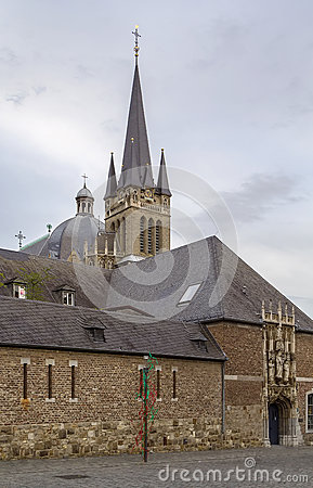 Aachen Cathedral Treasury Stock Photo.