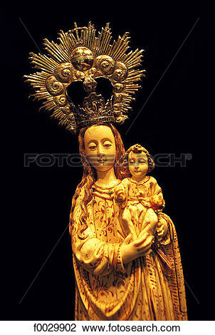 Stock Photo of Spain, Andalusia, Seville, cathedral treasury.