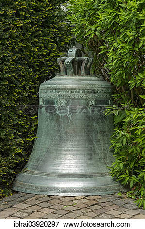 "Picture of ""Bell from Limburg Cathedral or Georgsdom, cathedral."