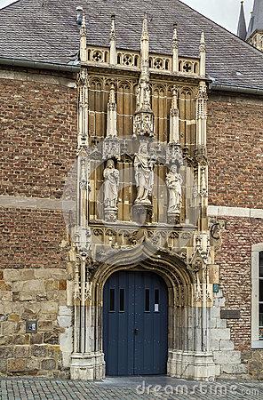 Aachen Cathedral Treasury Stock Photo.