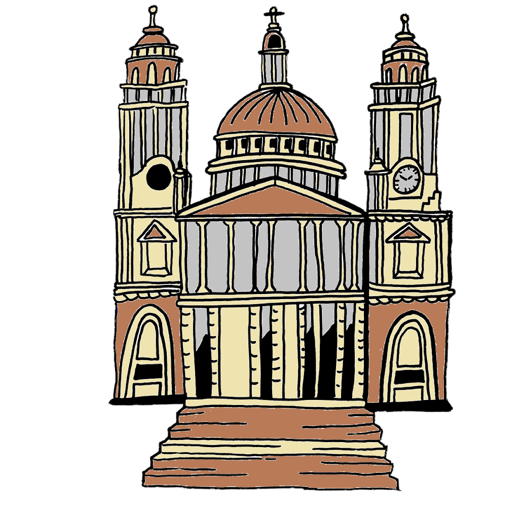 St paul's cathedral clipart.