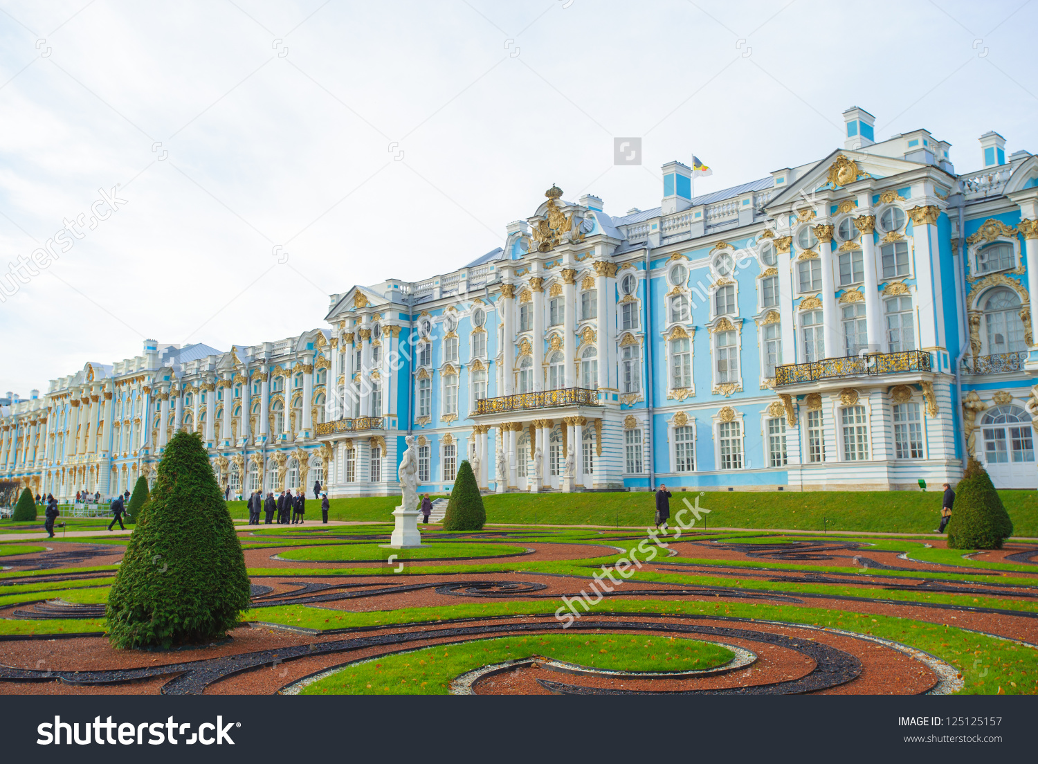 The Catherine Palace Is A Rococo Palace Located In The Town Of.