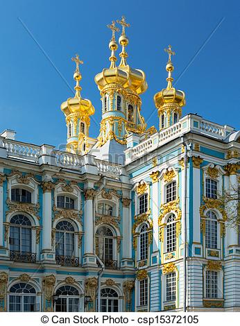 Stock Photography of Catherine's Palace (Russian.