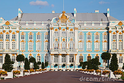 The Catherine Palace, Russia Stock Photos.