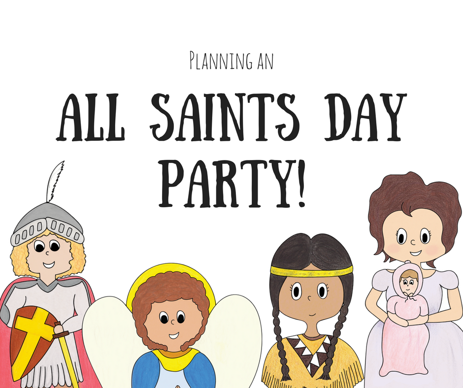All Saints' Day Party: A Family Affair.