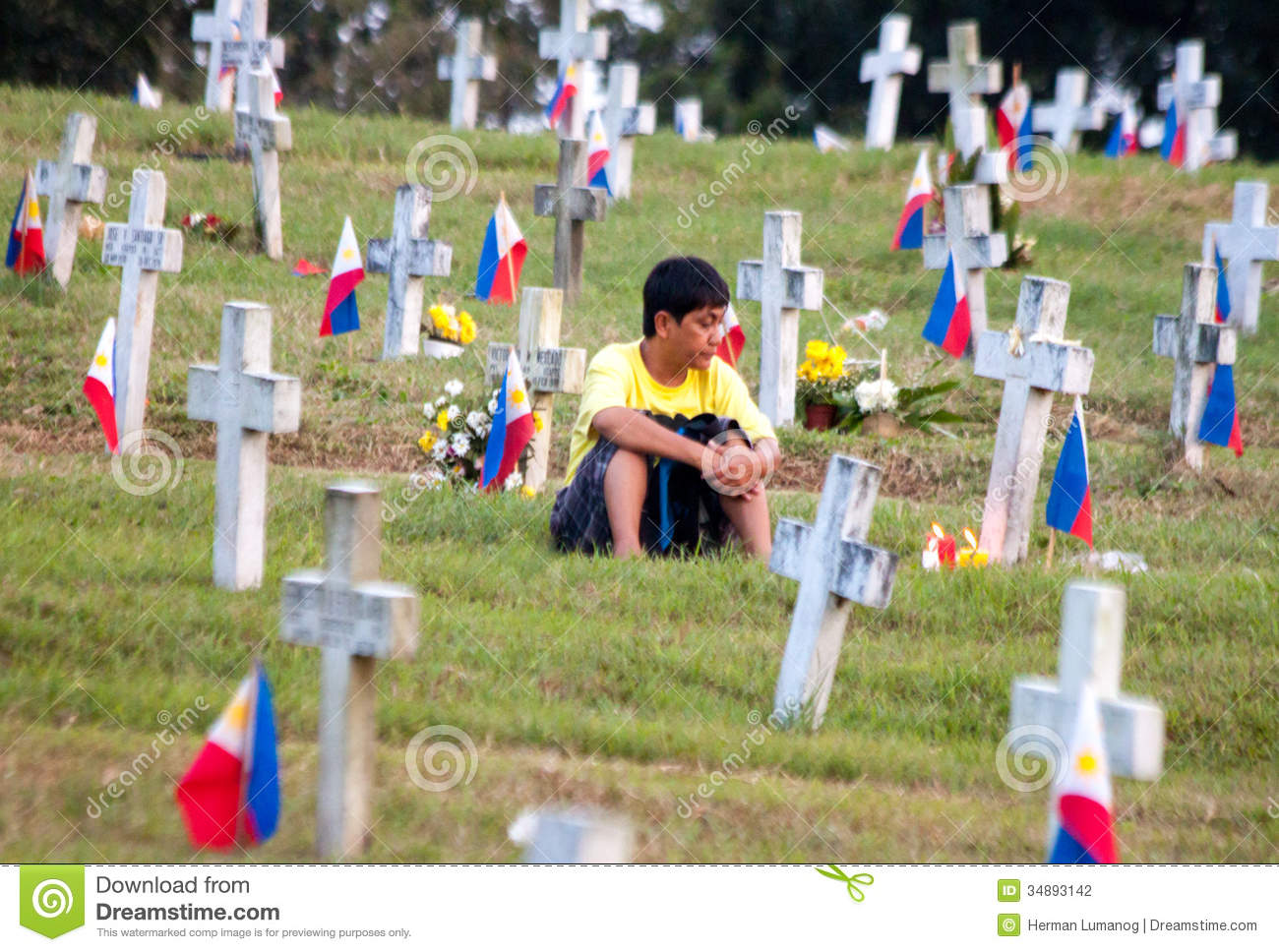 All Saints Day In Philippines Editorial Photography.