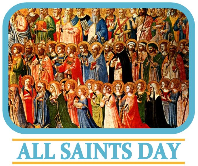 All Saints Day Mass.