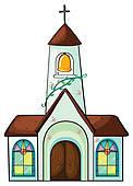 Catholic church Clip Art Illustrations. 6,452 catholic church.