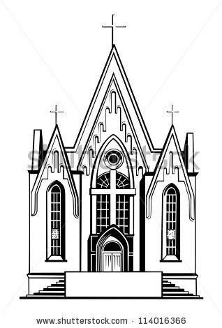 Church clipart catholic church, Church catholic church.