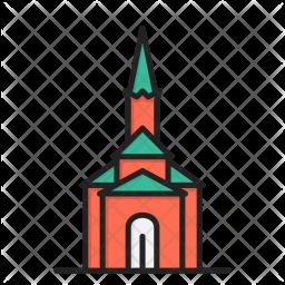 Catholic church Icon.