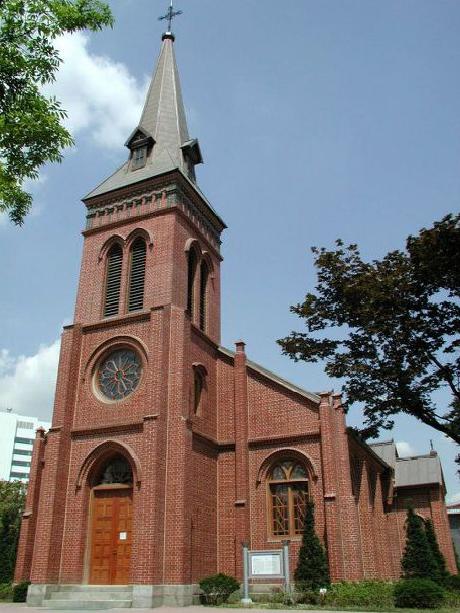 Yakhyeon Catholic Church.