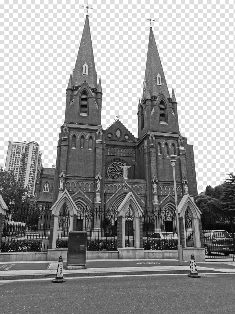 Saint Ignatius Cathedral, Shanghai St. Andrews Roman Catholic Church.