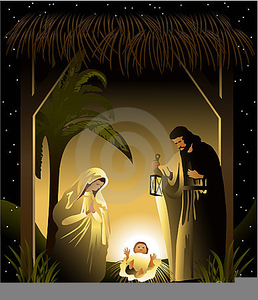 Catholic Christmas Clipart Free.